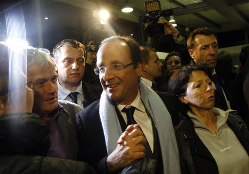 Hollande enjoys upper hand in French elections