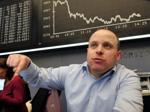 European stocks lower on poor bank earnings
