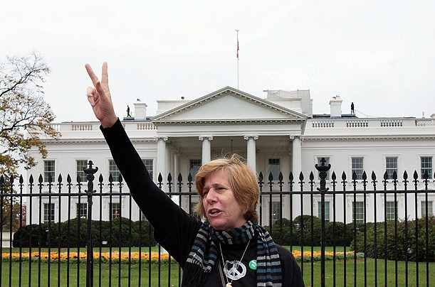 Cindy Sheehan's Wild Rant Over Tax Evasion