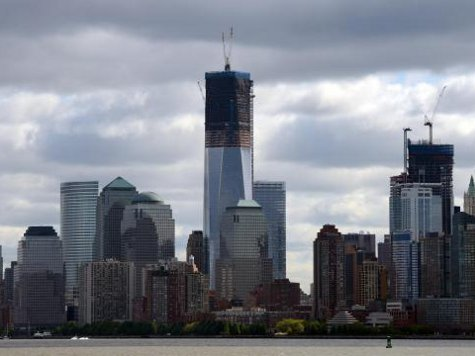 World Trade Center Becomes Highest Ny Tower Breitbart