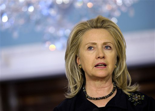 Human rights showdown awaits Clinton in Beijing