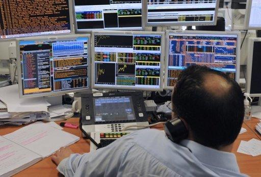 European stocks head lower on poor jobs data