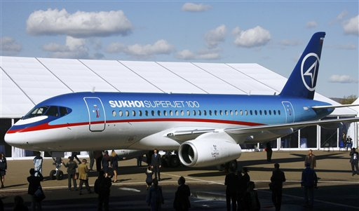 Contact lost with Russian-made plane in Indonesia