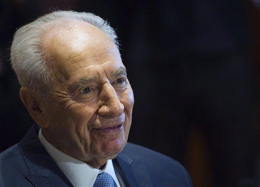 Israeli president hospitalized for hernia