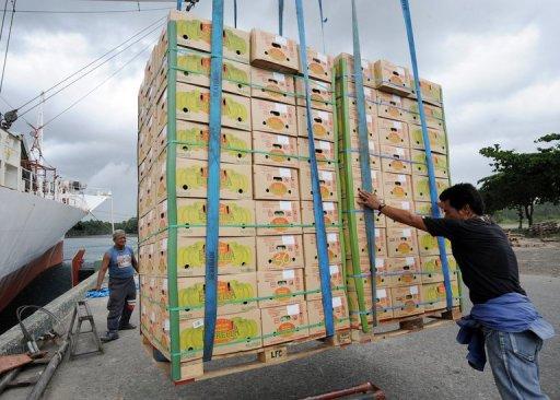 Philippine fruit impounded amid China sea spat