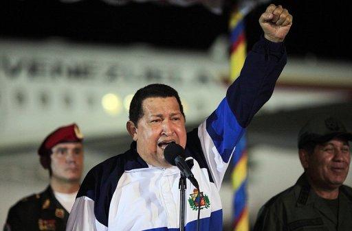Chavez: Mission Accomplished vs. Cancer