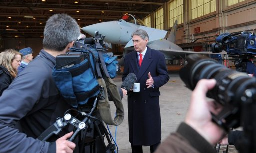 Britain balances defence budget 'black hole'