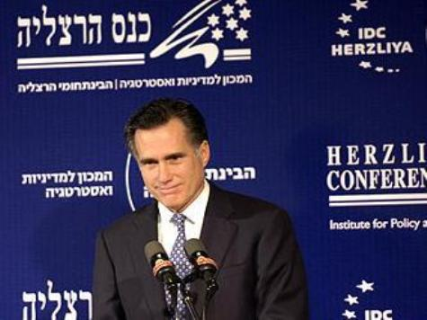 Nervous Democrats Brace for Romney Slam Dunk on Israel