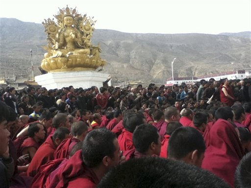 China TV blames Dalai Lama for Tibet immolations