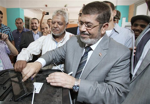Egypt vote: Brotherhood advances to second round