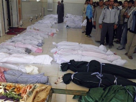 UN Observers in Syria Discover 13 Bound Corpses