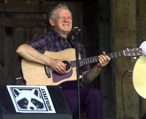 Guitar picking master Doc Watson dies in NC at 89