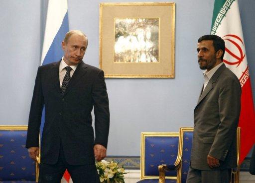 Putin to meet Iran's Ahmadinejad in China: Kremlin