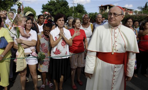 Cuba's cardinal under fire for comments to anti-Castro critics