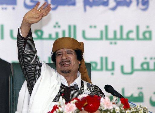 Court strikes down bar on Kadhafi 'glorification'