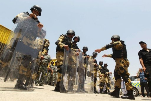 Egypt Military Says Parliament Dissolved