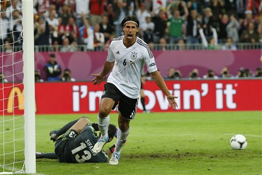 Greece out of Euro 2012 (Not Eurozone) After German Victory