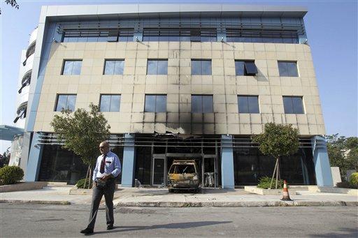 Arsonists Attack Greece's Microsoft HQ