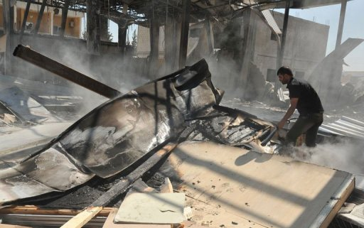 US Condemns Syria Television Station Attack