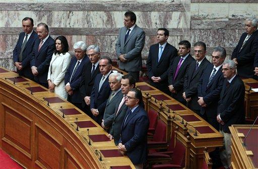 Greek Parliament Electing Speakers
