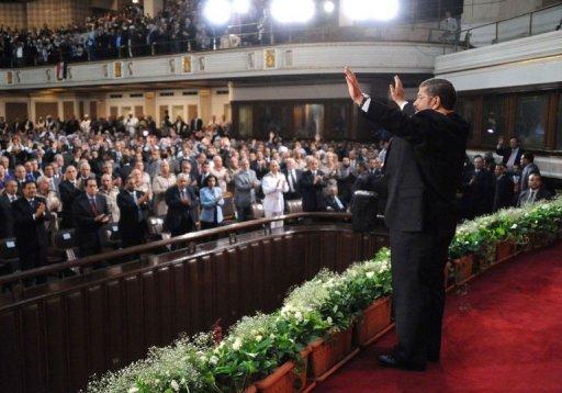 Egypt's Muslim Brotherhood President Announces People Power