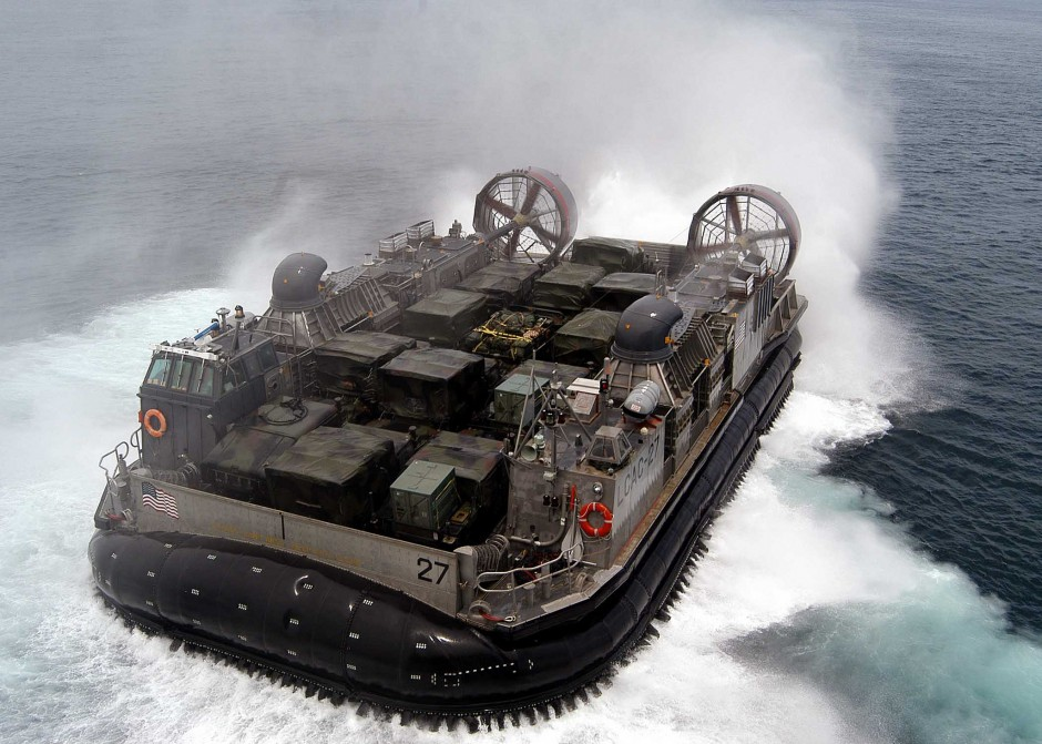 Navy Approves New Hovercraft