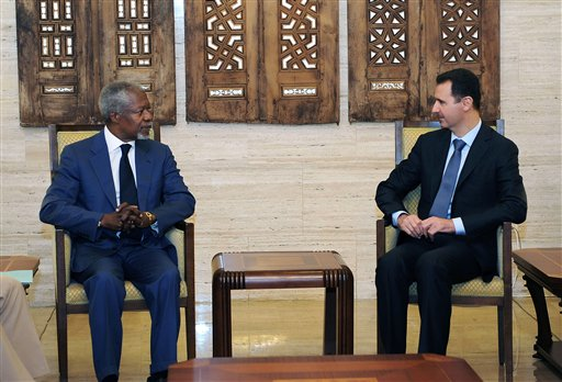 Annan Says Agreement Reached with Syria's Assad