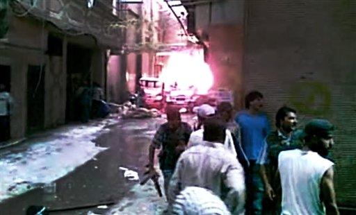 Syrian Regime Forces Strike Back after Bombing