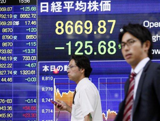 Europe Debt Concerns Push markets, Euro Lower