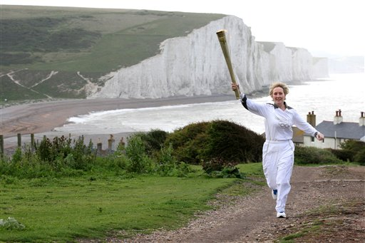 Olympic Buzz Takes Off: London Welcomes the Flame