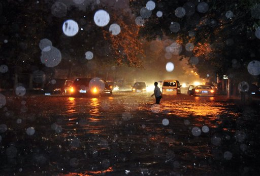 China storms kill 20, including 10 in Beijing