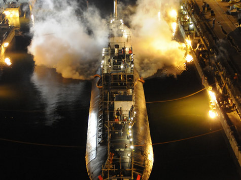 Dockman Allegedly Sets Nuclear Sub on Fire to Get Out of Work