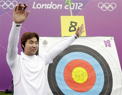 Legally Blind Archer from SKorea Sets World Record