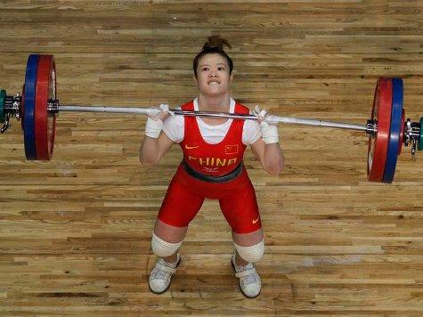China's Wang Sets Lifting Record