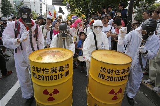 Anti-nuke Protesters Surround Japanese Parliament
