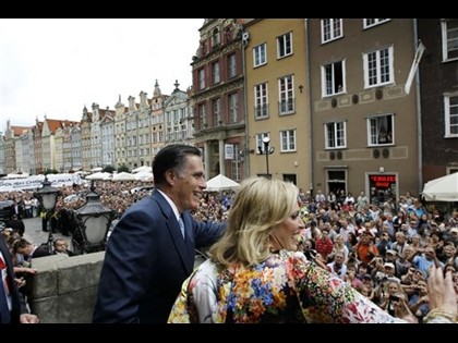 Romney's Foreign Trip a Show of Reagan-like Strength and Optimism