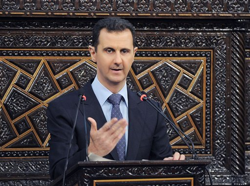UN Draft Drops Call for Syria's Assad to Step Down
