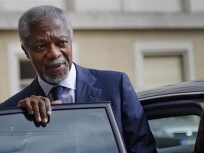 World View: Kofi Annan Resigns in Failure as Syria Envoy