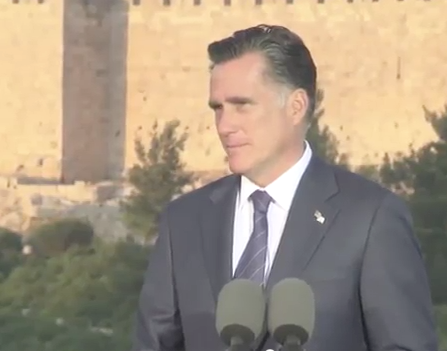 Romney Releases Ad Contrasting Policies with Obama on Israel and Jerusalem