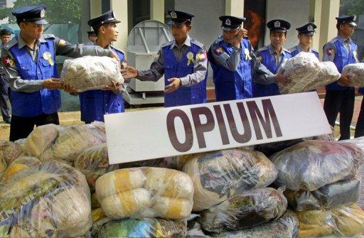 Myanmar Facing 'Worsening' Drug Problem