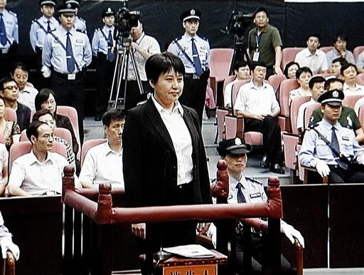 China: Politician's Wife Admitted Murdering Brit