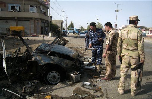 Wave of Attacks in Northern, Central Iraq Kill 22