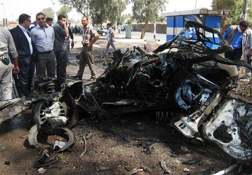 Iraq Officials: Over 90 Dead in Thursday's Attacks