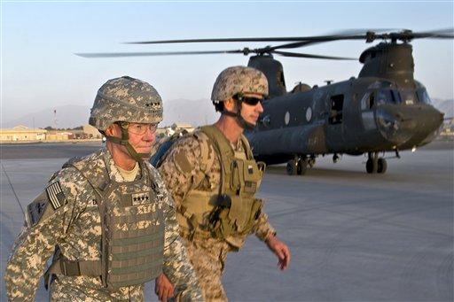 Afghan Rockets Damage US General's Plane