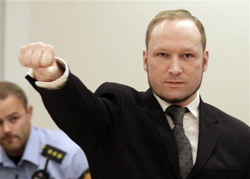 Norway's Breivik Deemed Sane, Sentenced to 10-21 Years in Prison