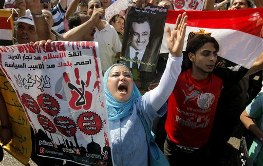 Egyptians Rally Against New Islamist President