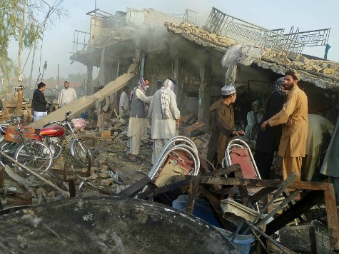 Double Suicide Attack Kills 12 in Afghanistan