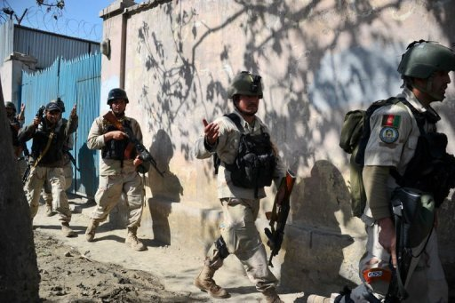 US Suspends Afghan Police Recruit Training