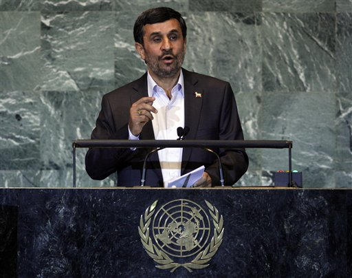 Nuke Talk Questions Await Ahmadinejad at UN