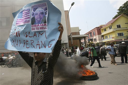 Indonesia Protesters Want Filmmaker Punished in US